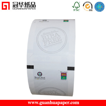 Rolo de papel impresso para ATM Machine
