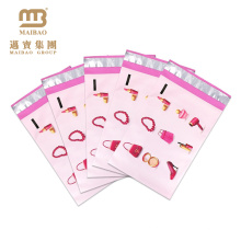 Sacos pessoais impressos coloridos cor-de-rosa fortes Polymailer do envelope do projeto pessoal feito sob encomenda Eco-Amigável do logotipo