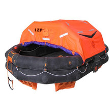 SOLAS approved yacht 6 persons inflatable life raft