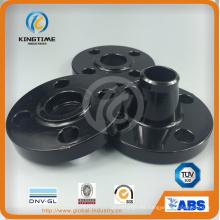 Brida forjada ASME B16.5 A105 de acero al carbono brida soldada (KT0244)