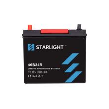 Batterie au lithium 12V 46B24R pour audio de voiture