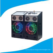 2.0 altavoz de la etapa de las multimedias del PA con la luz colorida Bt T238-16