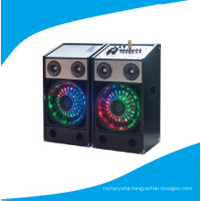 2.0 PA Multimedia Stage Speaker with Colorful Light Bt T238-16