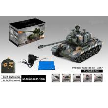 1: 18 Tanque de rádio controle remoto brinquedo (H1401064)