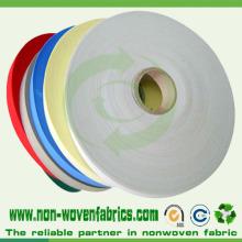 Tela no tejida colorida para el embalaje, papel de embalaje