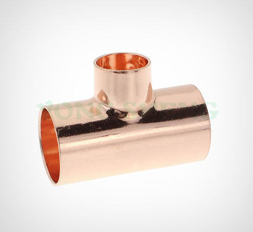 Copper Reducer Tee EF