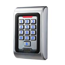 RFID smart card access control waterproof standalone keyboard reader