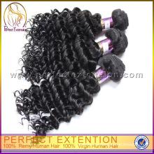 Indien 30 Zoll Afro verworrene Curly Clip In Haarverlängerungen für schwarze Frauen