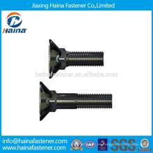 China Proveedor DIN608 Acero inoxidable Dacromet / HDG / Zinc plateó el contador Sunk el perno cuadrado del perno / el perno del carro
