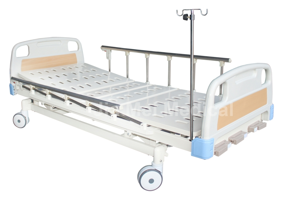 metal patient bed