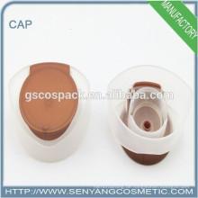 Großhandel Flaschendeckel Parfüm-Flasche mit Blumenkappe Flip Top Schraubverschluss