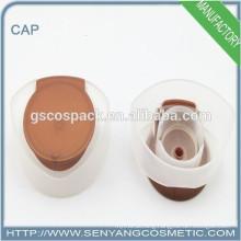 wholesale bottle cap perfume bottle with flower cap flip top screw cap