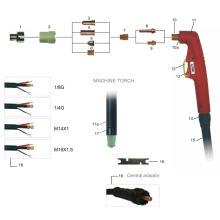 Горячая продажа новый тип воздушно-плазменной резки факел LT50 для Panasonic с CE