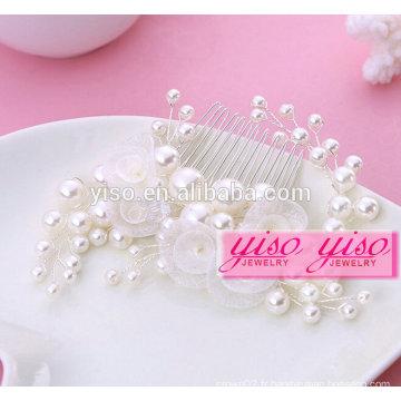 Cadeau de vente chaude féminin mariée en alliage peignoirs de cheveux pour fille de mode