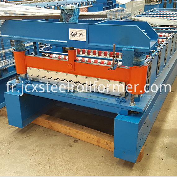 836 corrugated sheet roll forming machine