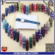 YXL-167 Fashion Watch sangle Nylon l'OTAN sangles bande poignet Nylon Band bracelet Custom OEM montre bracelets de montre
