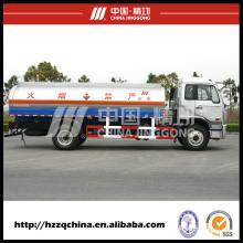 Nuevo tanque de combustible en el transporte por carretera (HZZ5165GHY) para los compradores