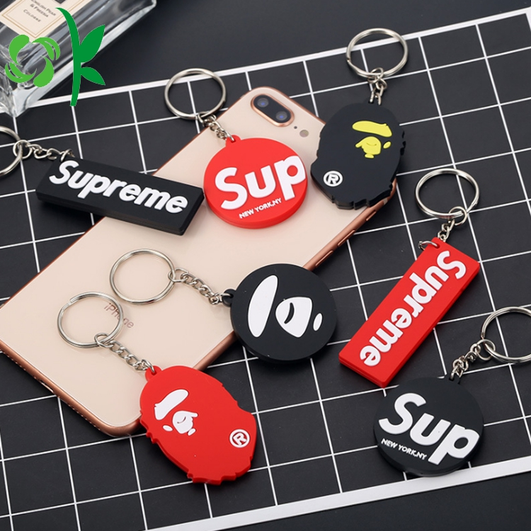 Letter Keyring Silicone