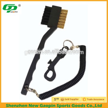 Golf Club Cleaning Brush with Retractor
