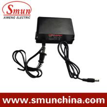 Adaptador de corriente a prueba de lluvia 12V1a 12W IP67 AC / DC (SMY-12-1H)