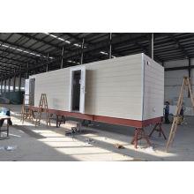 Maisons modulaires préfabriquées de cadre en acier pour la maison de garde