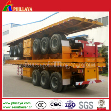 Flatbed Semitrailer for Container Transportation