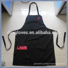 Delantal promocional de la cocina delantal Delantal al por mayor del bordado delantal de la cocina