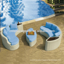Modern simple design rattan sofa set