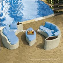 Современный простой дизайн ротанга диван набор