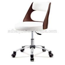 Top grain white leather plywood executive office furniture