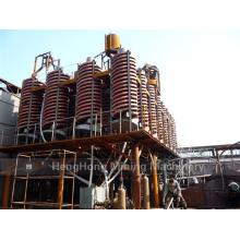 Chute en spirale de fibre de verre de 5ll-1500 pour le traitement de lavage de charbon