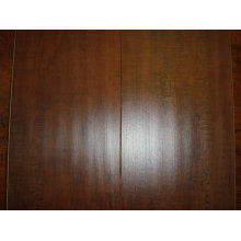 Laminate flooring hand scraped surface/printed laminate flooring