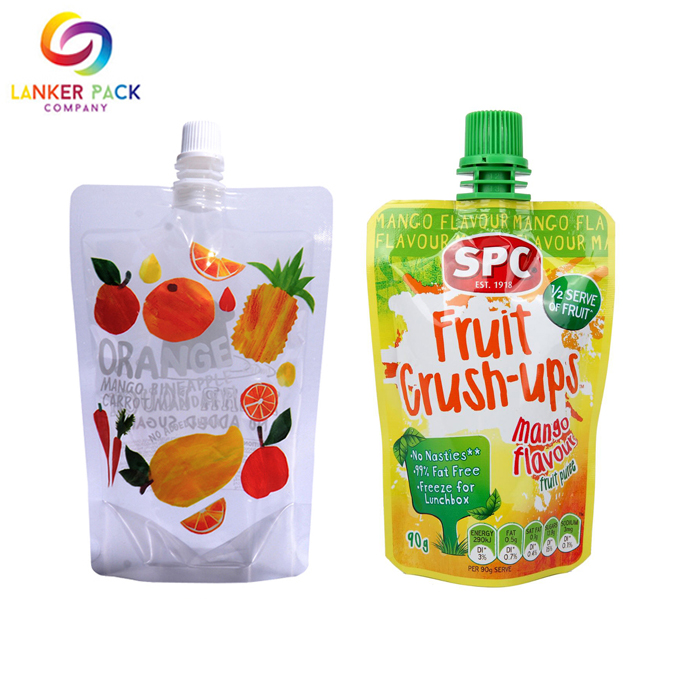 Custom Hot Sealing Baby Food Packaging