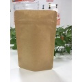 Zip Lock Block Bottom Paper Bag Biologisch afbreekbaar
