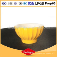 5 inch ceramic bowl with vertical strips for BS120423A