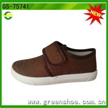 Schöne direkte Fabrik injiziert Schuhe Großhandel Canvas Schuhe