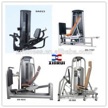 Equipo de gimnasia para equipos sentados de pierna horizontal Pressgym