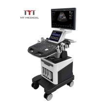 MT Medical Ultrasound Selling Dual Screen 128 elements 3d/4d color doppler ultrasound machine