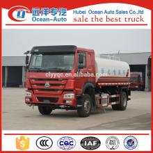 China Howo 15 CBM água polvilhar veículo