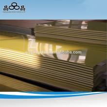 Feuille d'époxy en fibre de verre Isolation des transformateurs