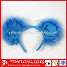 Faixas populares do cabelo do luxuoso do halloween faixas bonitas do cabelo azul para meninas