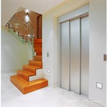 Ascenseur d'intérieur de petite villa d'intérieur sans verre de machine en verre