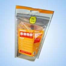 O saco de empacotamento de arroz de extrema facilidade com embalagem de punho