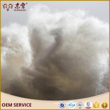 Approvisionnement de stock d'usine épilée mongolienne de couleur brun blanc de cachemire de fibre