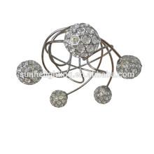 GuangDong Neue moderne Kristall runden Anhänger Licht Sputnik Pendelleuchte