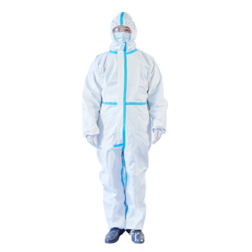 Stock de vêtements de protection médicale jetables