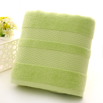 Tuala Mandian Terbaik Plain Dyed Lime Green Towels