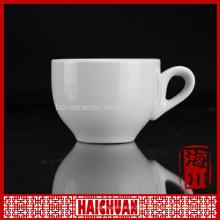 HCC top quality bone china artificial flowers mug