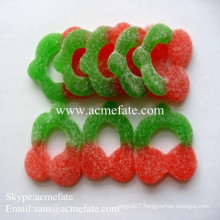 Sweet fruit flavour wholesale fruit jelly candy