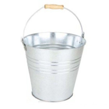 Galvanized Metal Garden Buckets With Handle